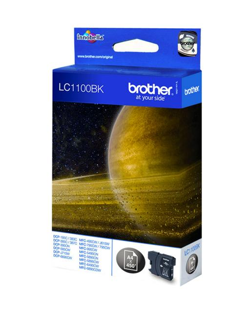 BROTHER LC1100 NEGRO CARTUCHO DE TINTA ORIGINAL